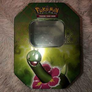 Pokémon trading card box